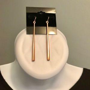 Rose Gold Stiletto Earrings Premier Designs